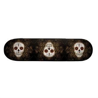 Crâne vintage #1 de sucre skateboard 20,6 cm