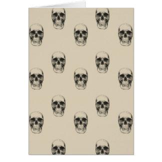 Crânes Carte De Vœux