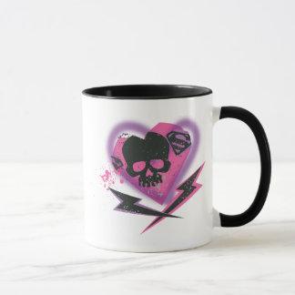 Crânes et foudre de Supergirl Mug