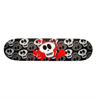 Crânes foncés skateboard 19,7 cm