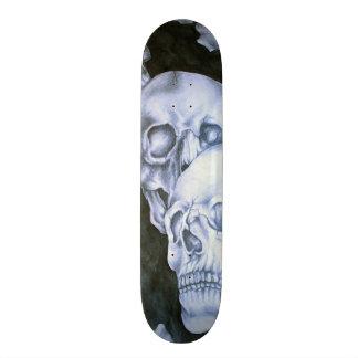 Crânes Plateaux De Skateboards