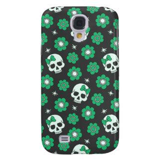 Crânes verts irlandais de Goth Coque Galaxy S4