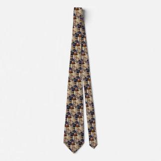 Cravate Affaires vintages, facteur fournissant des lettres