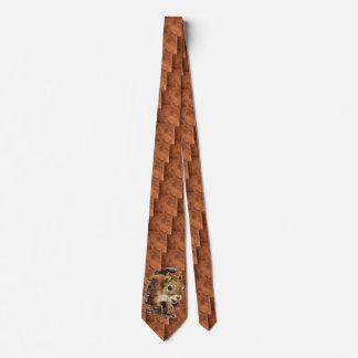 Cravate Animal curieux d'écureuil de nouveauté d'amusement