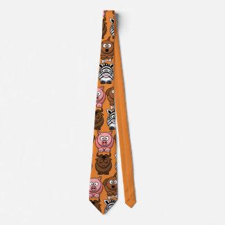 Cravate Animaux mignons d'enfant de personnaliser pour la