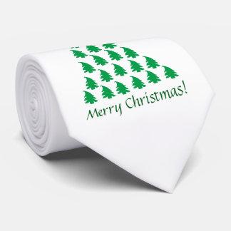Cravate Arbre de Noël