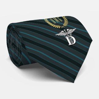 Cravate Ardoise professionnelle de symbole d'art dentaire