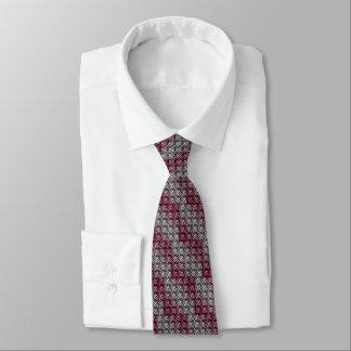 Cravate Armure de gaufre de vin et d'argent