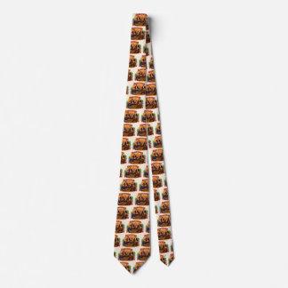 Cravate Art vintage d'étiquette de cigare, contrôleurs