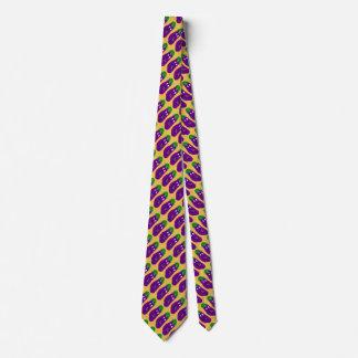 Cravate Aubergine étonnée par Kenneth Yoncich