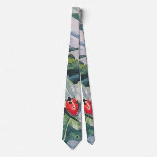 """Cravate avec la """"coccinelle"""" par ALarsenArtist"""