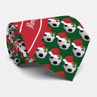 Cravate Ballon de football de Joyeux Noël