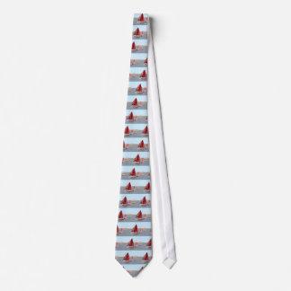 Cravate Bateau à voile en bois