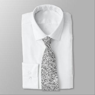 Cravate Belles étincelles argentées de scintillement