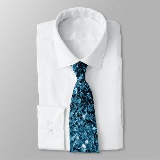 Cravate Belles étincelles de scintillement de bleus