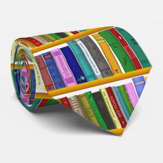 Cravate Bibliothèque pour le génie. Livres pour les