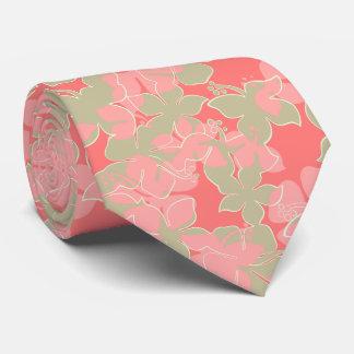 Cravate Bilatéral floral de ketmie hawaïenne de Hanalei