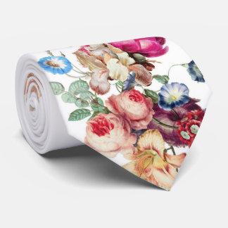 Cravate Bouquets en pastel élégants et vintages de fleur.