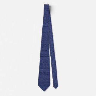 Cravate Boutons minces d'un MillionTiny Blue Line