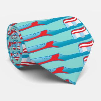 Cravate Brosse à dents d'hygiéniste d'assistant dentaire