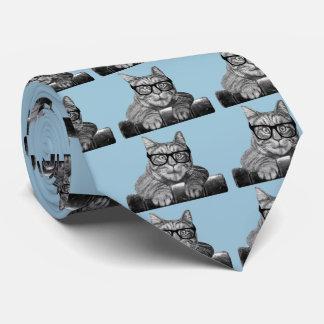 Cravate Cadeaux drôles vintages de geek