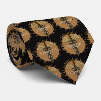 Cravate Caducée de dentiste