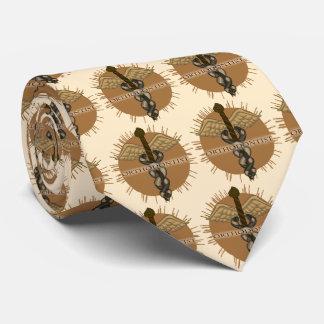 Cravate Caducée d'orthodontiste
