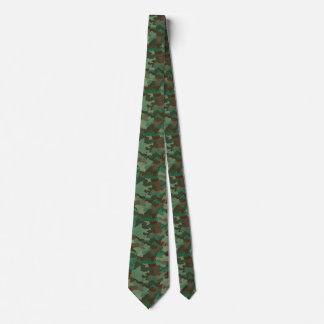 Cravate Camouflage