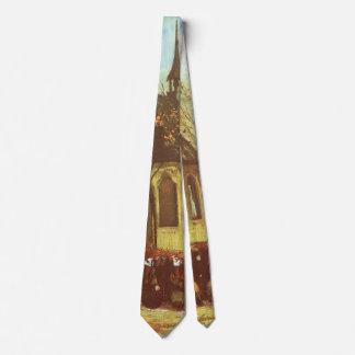 Cravate Chapelle chez Nuenen, pratiquants par Vincent van