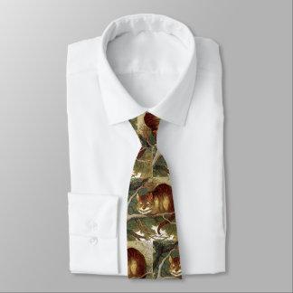 Cravate Chat de Cheshire