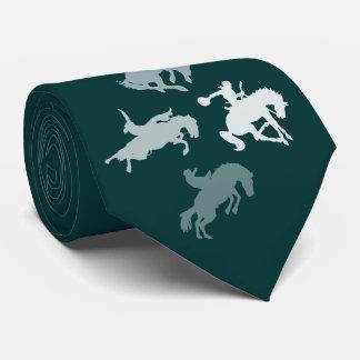 Cravate Chevaux de rodéo