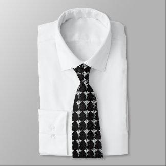 Cravate Chiroprakteur métallique d'emblème de chiropractie