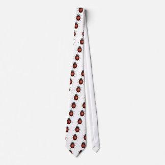 Cravate Coccinelle rouge