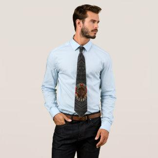 Cravate Conception de Buffalo de Natif américain de