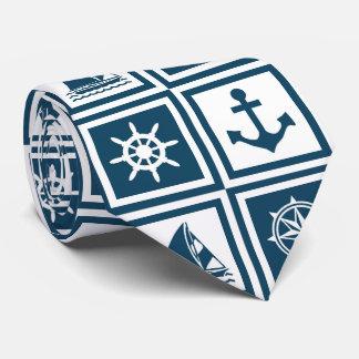 Cravate Conception orientée nautique