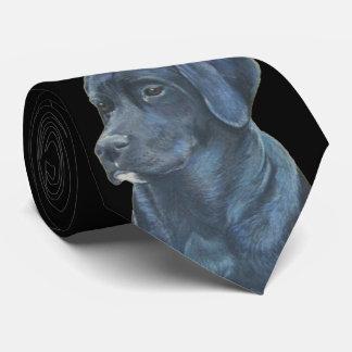 Cravate conception originale d'art de Labrador de portrait