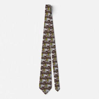 Cravate condamnée de tache