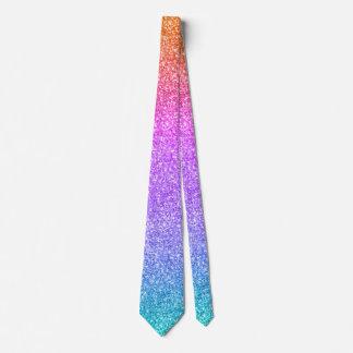 Cravate Copie colorée moderne de texture de scintillement