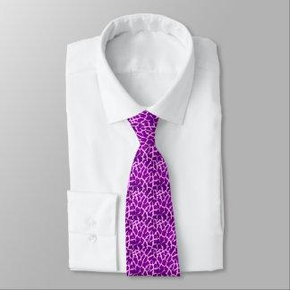 Cravate Copie pourpre de girafe