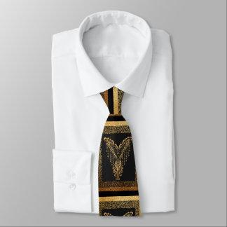 Cravate Corbeau d'or