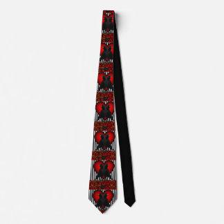 Cravate Corneilles et coeurs