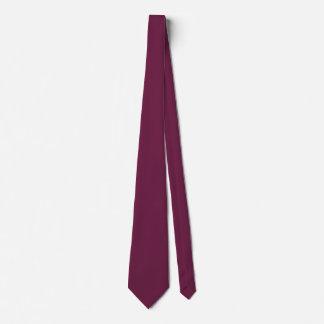 Cravate Couleur marron à la mode autoritaire