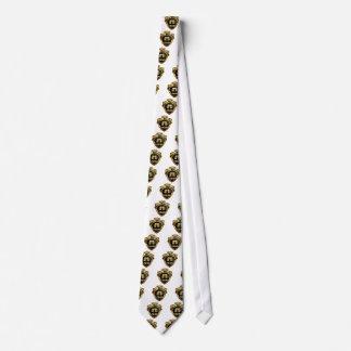 Cravate Crête d'or de couronne de la Reine de brassage de