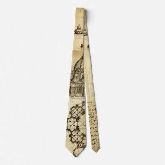 Cravate Croquis architectural par Leonardo da Vinci