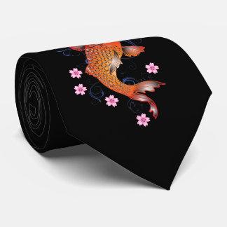 Cravate Cru de carpe de Koi