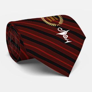 Cravate Cuvette professionnelle vétérinaire de rouge de