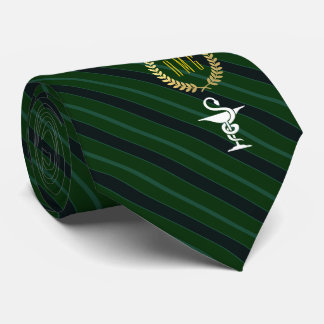 Cravate Cuvette professionnelle vétérinaire de vert de