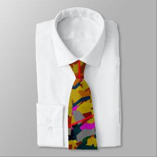 Cravate d'affaires de souffle de couleur (2-sided)