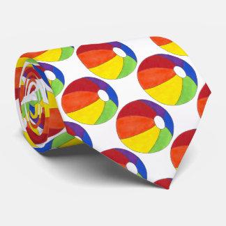 Cravate de Beachball de ballon de plage
