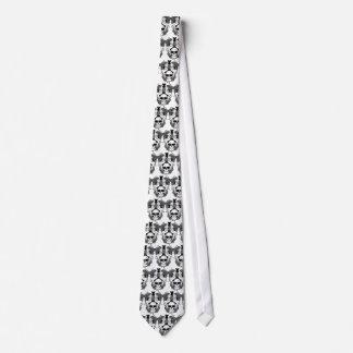 Cravate de dames de crâne de voyou